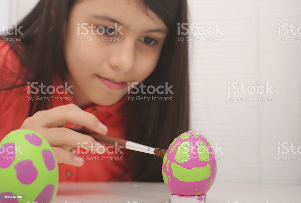 My Happy Easter Egg royalty-free stock photo