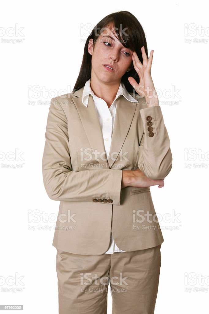 My headache is so bad royalty-free stock photo