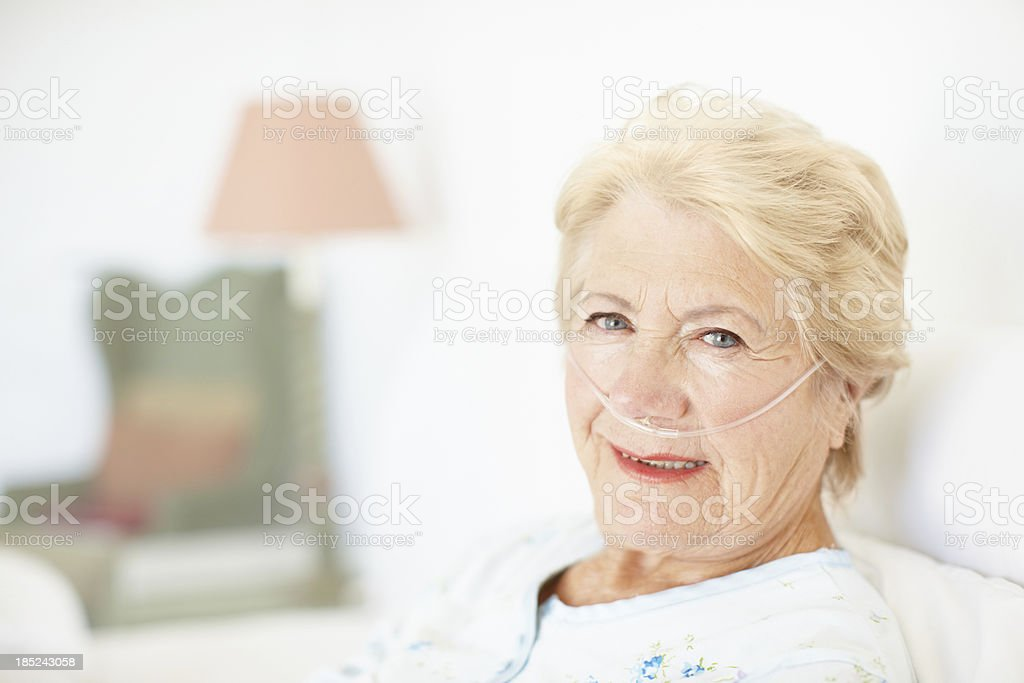 My health insurance is taking care of everything! stock photo