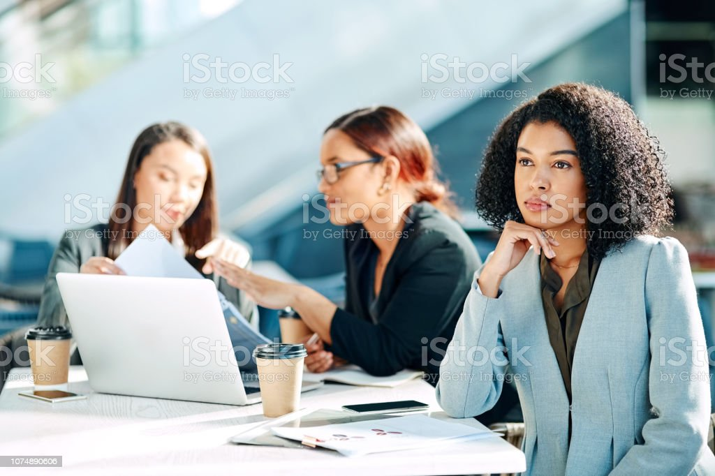 My ideas are not being heard stock photo