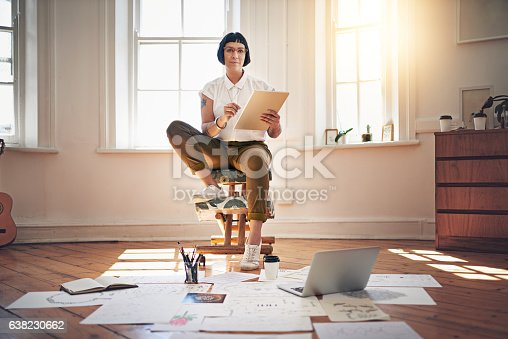 istock My job is fun, flexible and positively overflowing with creativity 638230662