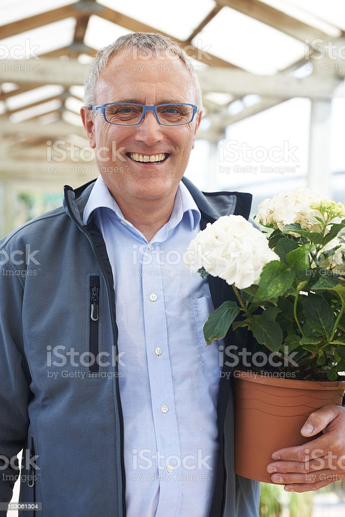 My job is great because I'm doing what I love! royalty-free stock photo