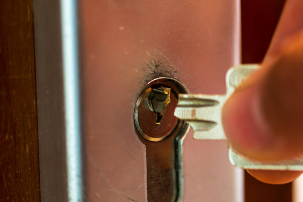 My key is broken off in the lock Annoying mishap. My key is broken locksmith stock pictures, royalty-free photos & images