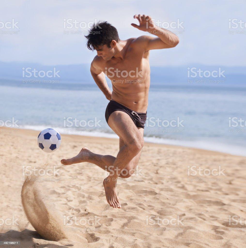 My kind of beach ball royalty-free stock photo