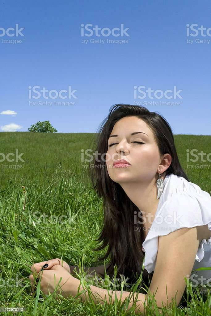 My Latin Sunbath royalty-free stock photo