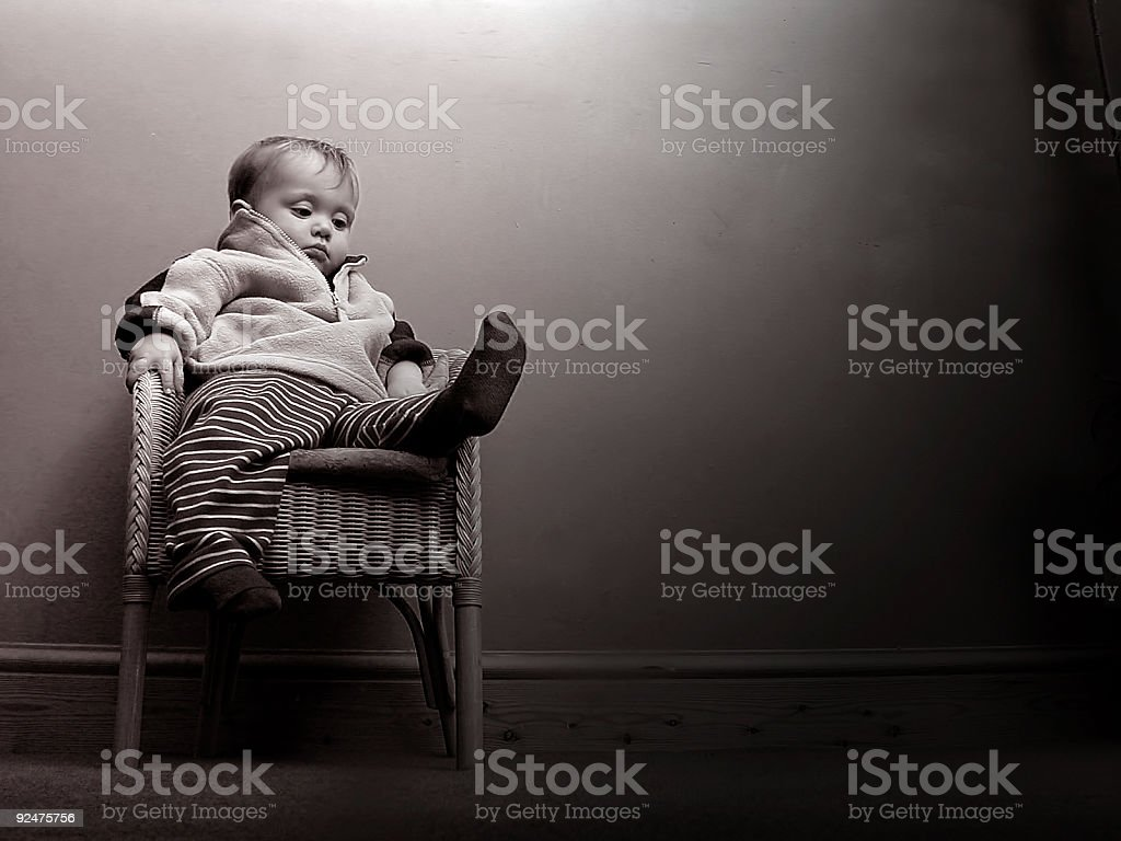 My left foot royalty-free stock photo