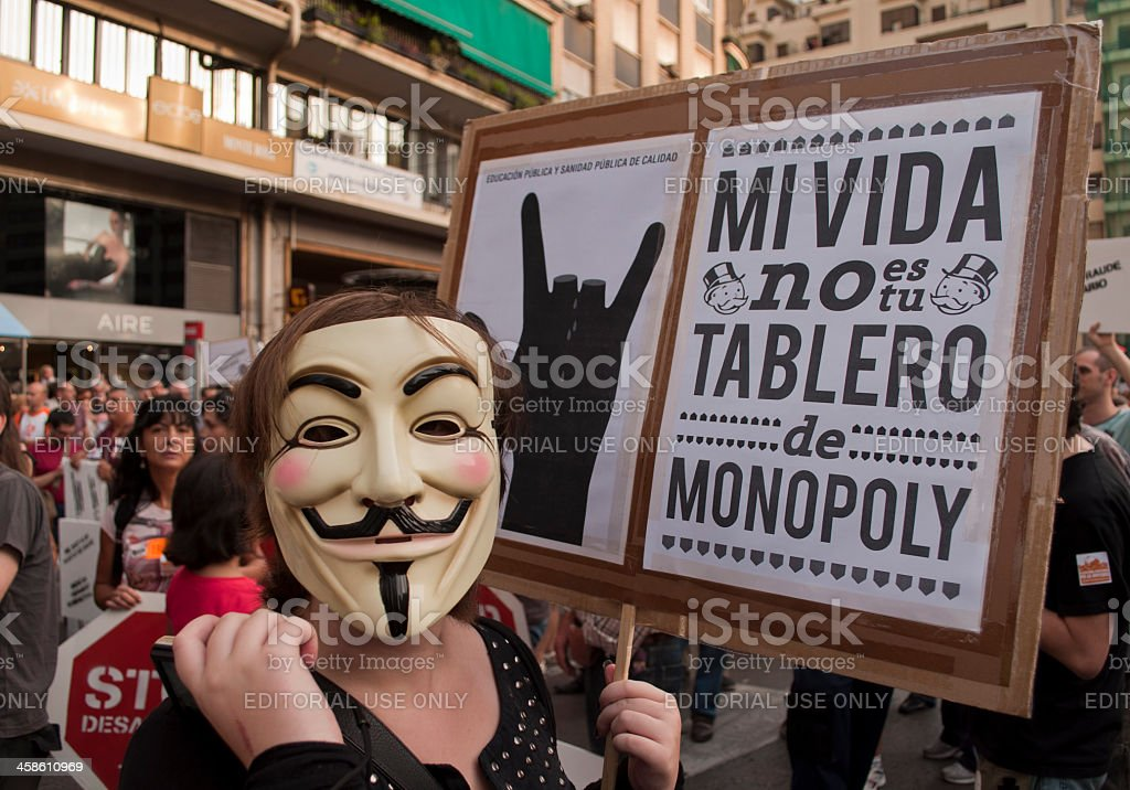 My life is not your monopoly board stock photo