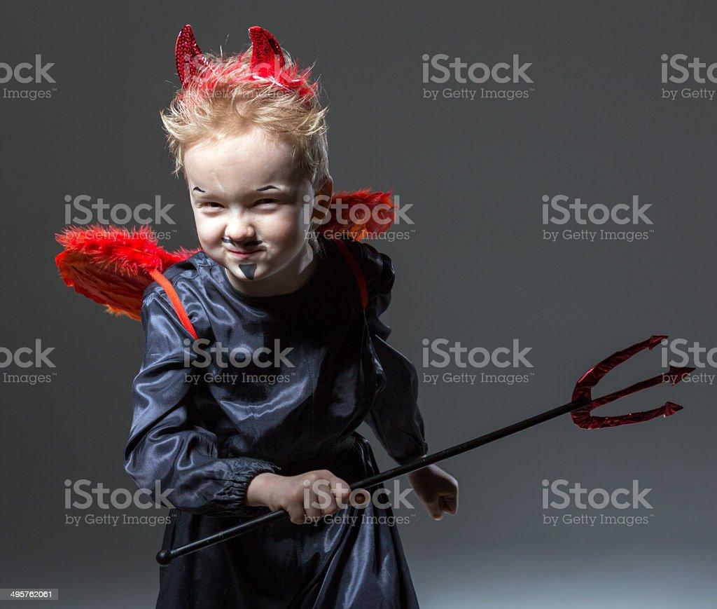 My little demon royalty-free stock photo
