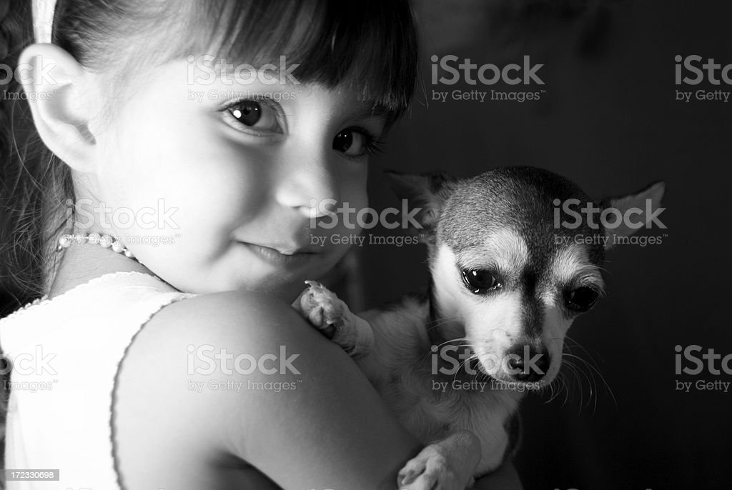 My Little Puppy royalty-free stock photo