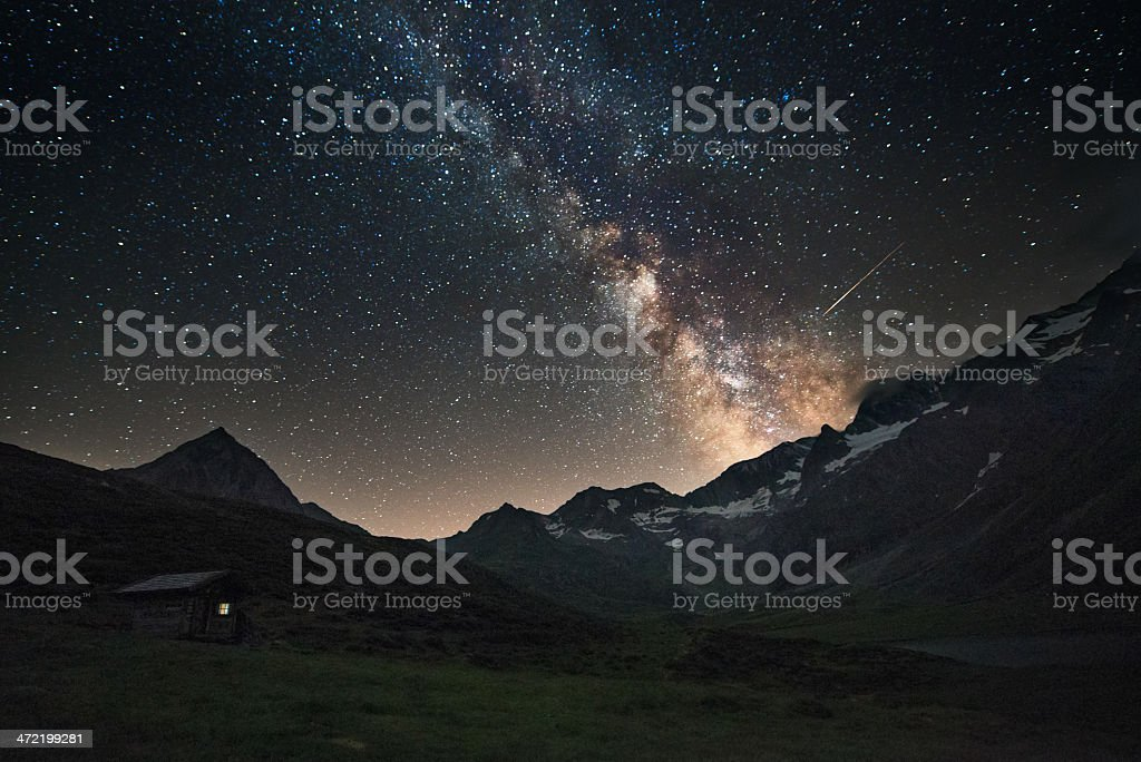 My little window to the Universe stock photo