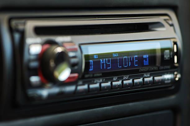 Mi pasión de audio - foto de stock