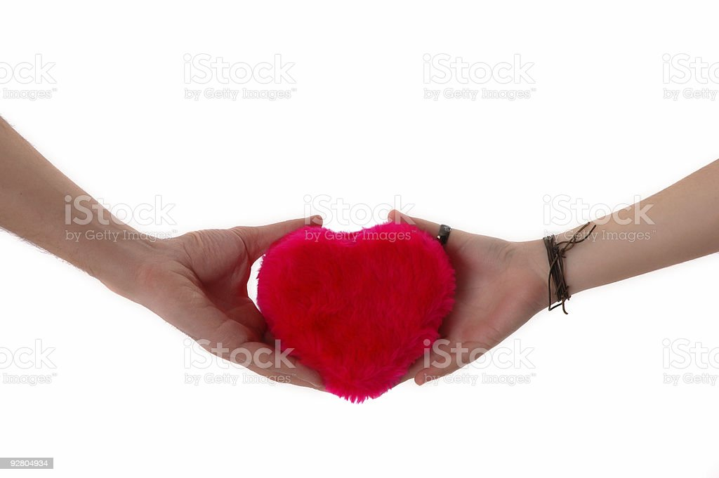 my love on your hands royalty-free stock photo