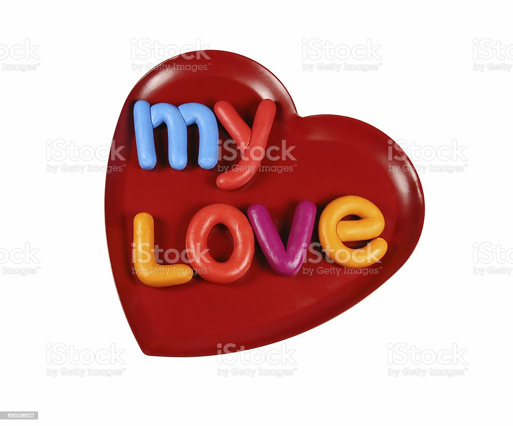 Mon amour photo libre de droits