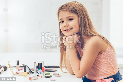 istock My make-up is on point today! 511526732