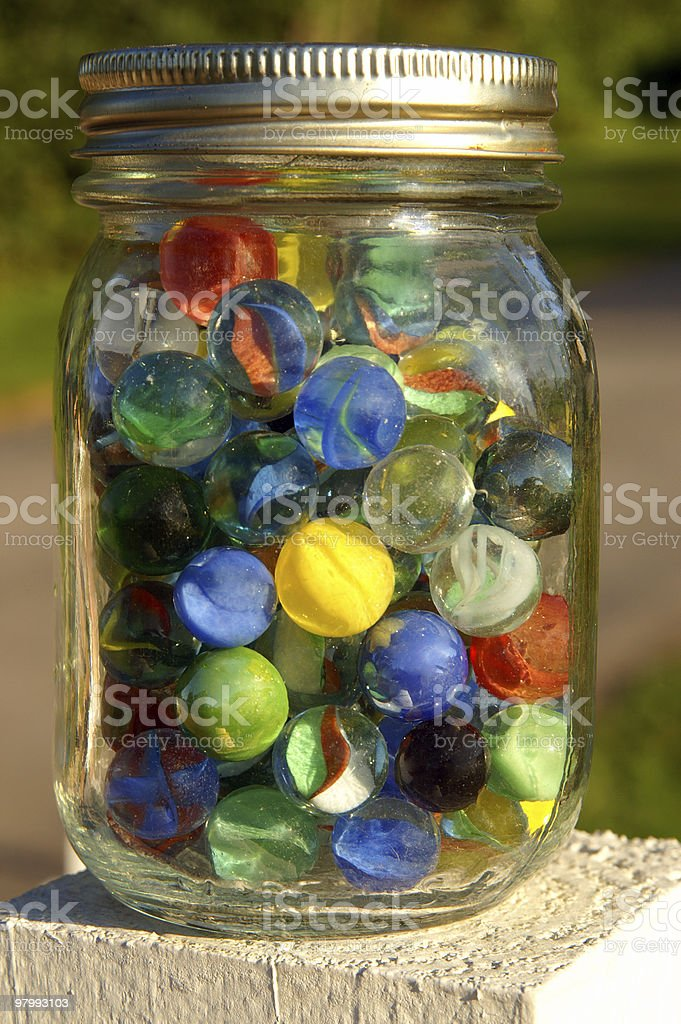 My Marbles royalty-free stock photo