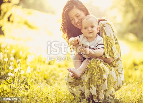 525959168 istock photo My mom is the best in the world. 1058715918