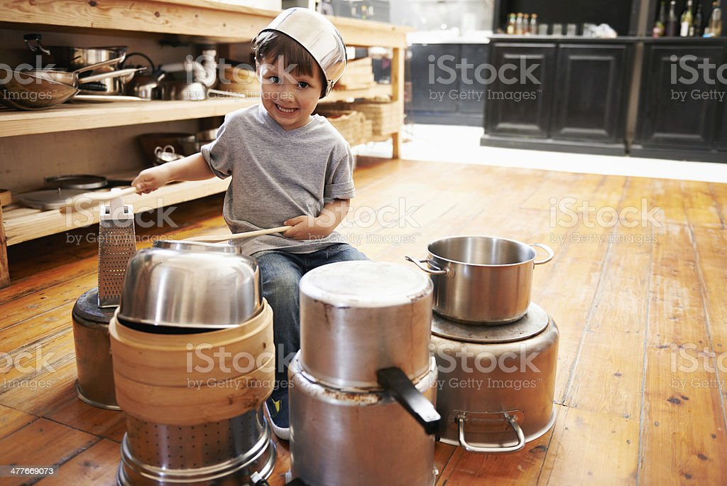 My mom organized this gig for me stock photo