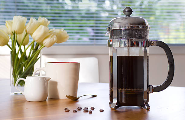 my morning cup of coffee my morning cup of coffee coffee pot stock pictures, royalty-free photos & images