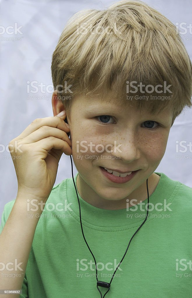 Mein MP3 Player royalty-free stock photo