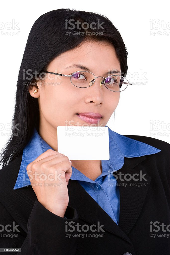 My name card royalty-free stock photo