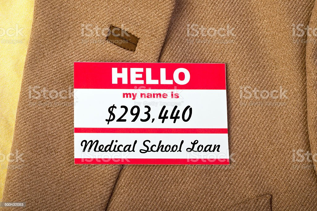 My Name Is... stock photo