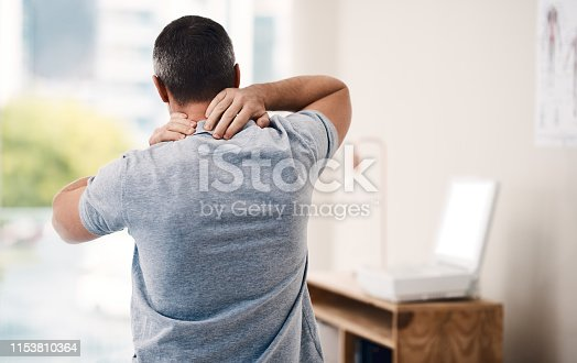 istock My neck has been in pain the whole week 1153810364