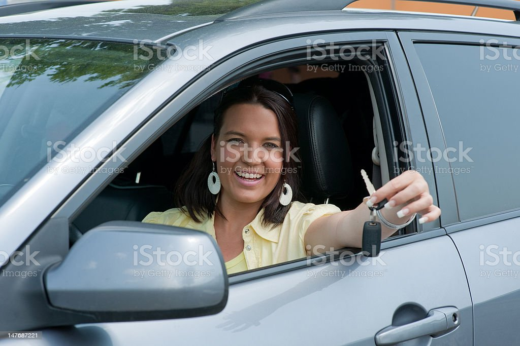 My new car royalty-free stock photo