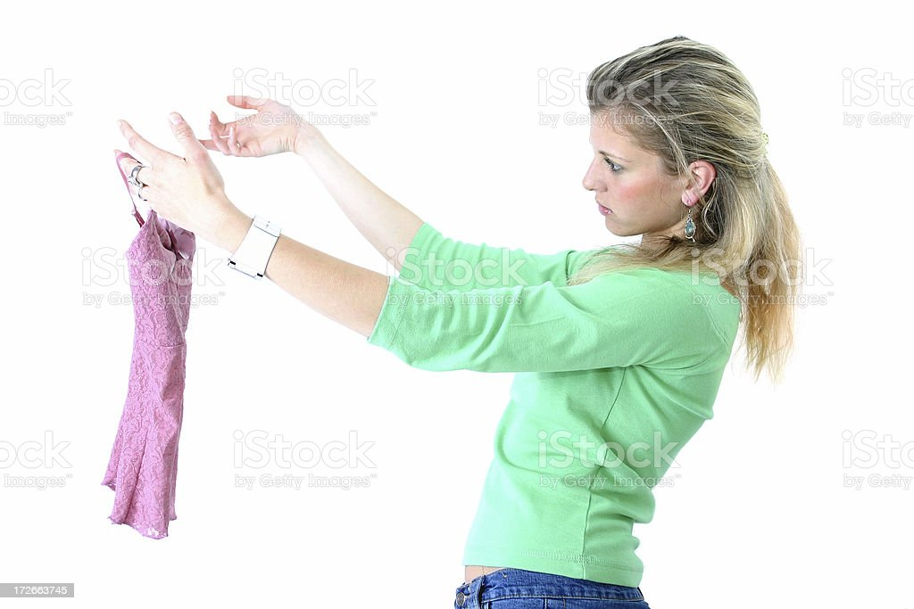 My new dress royalty-free stock photo
