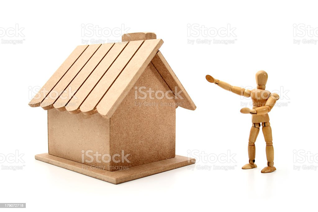 My new home royalty-free stock photo