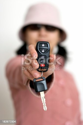 Female show her new vehicle keyYou may also like: