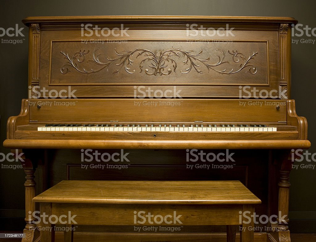 My old friend the piano royalty-free stock photo