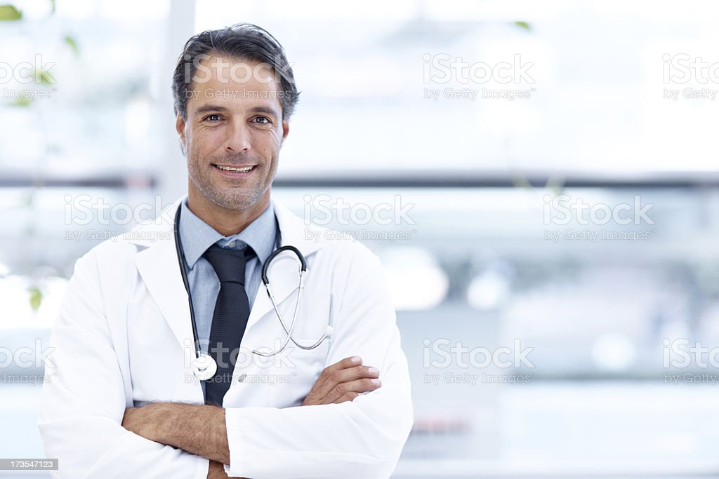 私は常に最初の患者 ロイヤリティフリーストックフォト