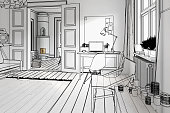 My private apartment (preview) - 3d illustration