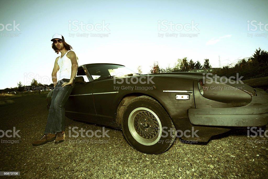 my ride royalty-free stock photo