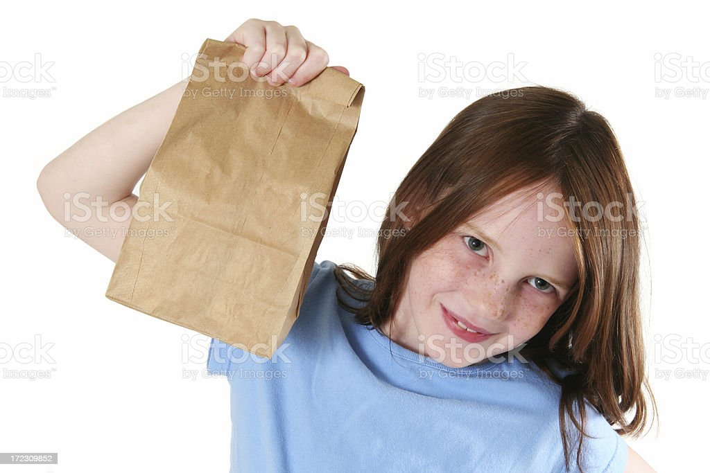 My Sack Lunch royalty-free stock photo