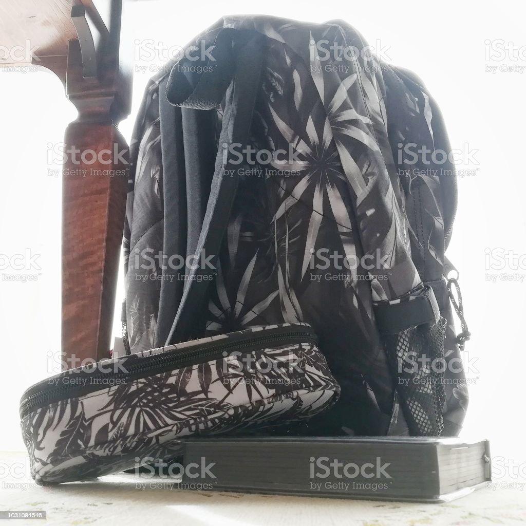 my school bag - foto stock
