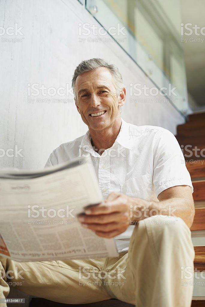 My shares are up today! stock photo