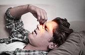istock My sinuses are so blocked! 468447672