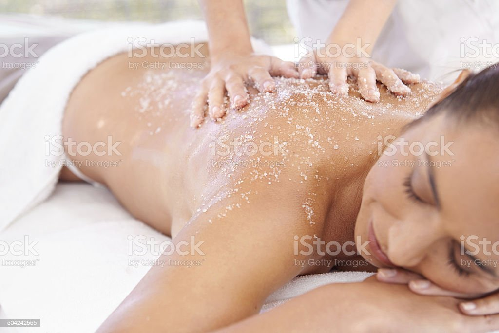 My skin will thank me later stock photo
