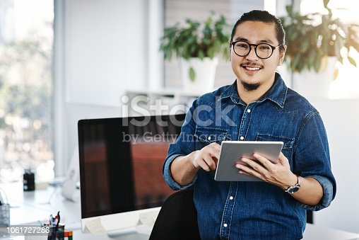 874813790 istock photo My smart little office assistant 1061727286