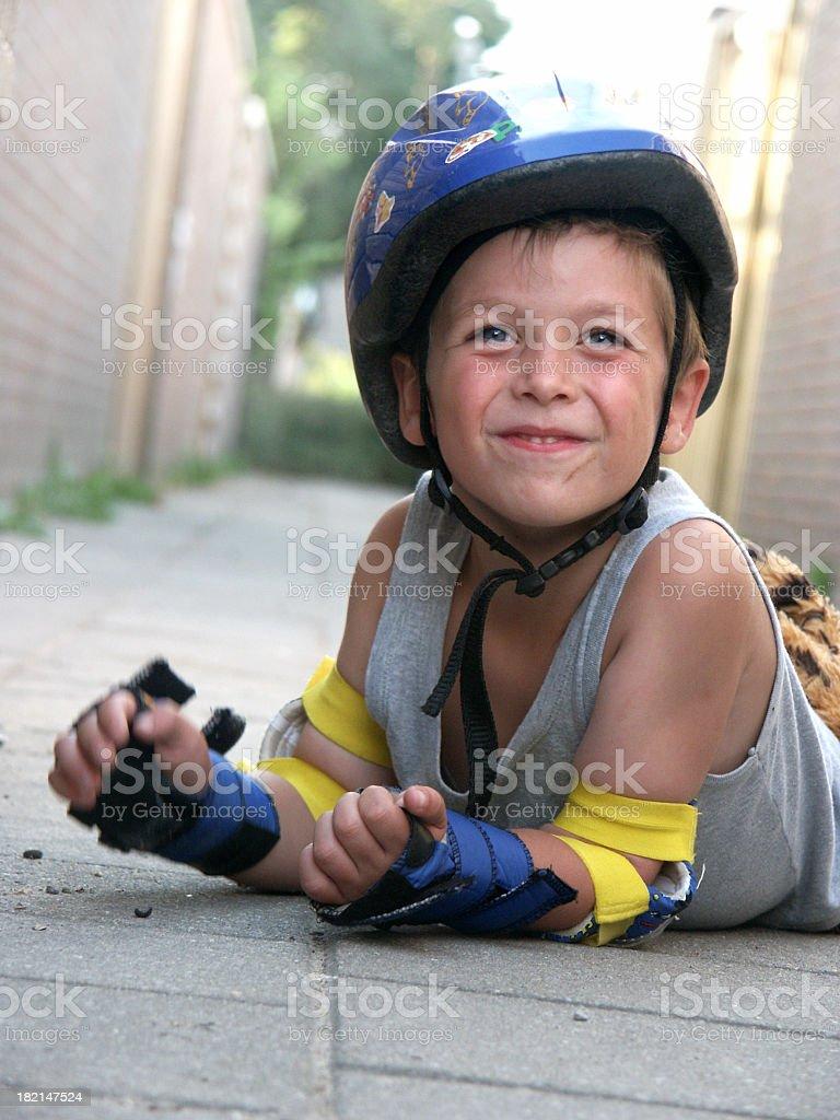 My son, Skating 01 royalty-free stock photo