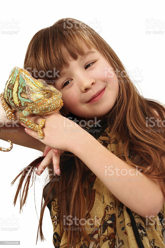 My strange friend royalty-free stock photo