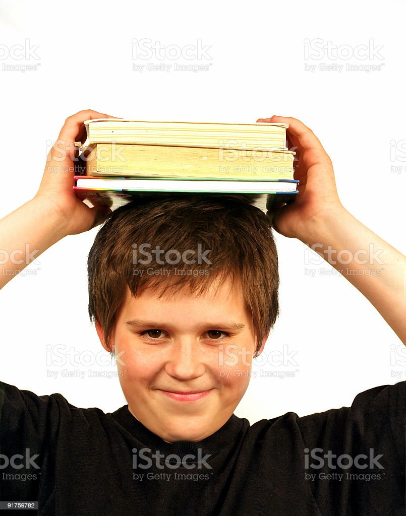 my study royalty-free stock photo