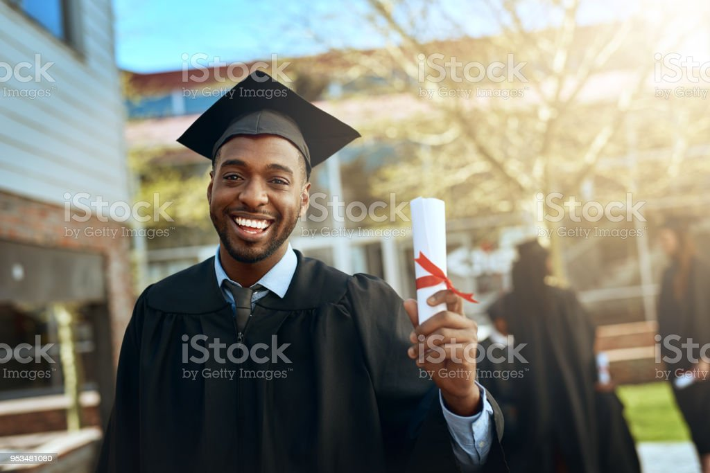 My success story starts here stock photo
