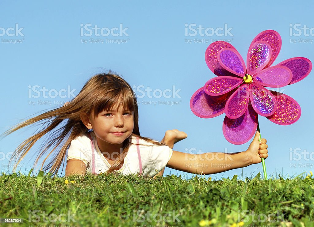 My summer toy royalty-free stock photo
