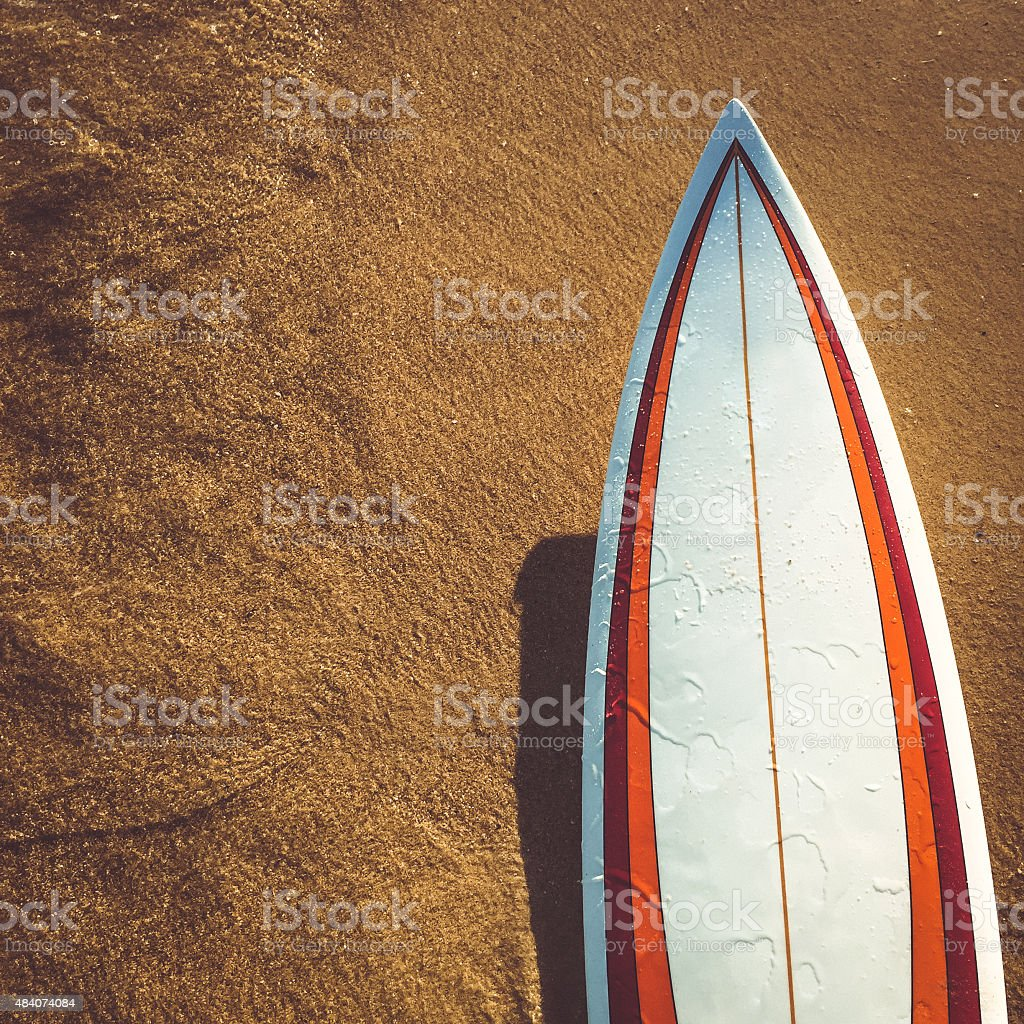 My surfboard stock photo