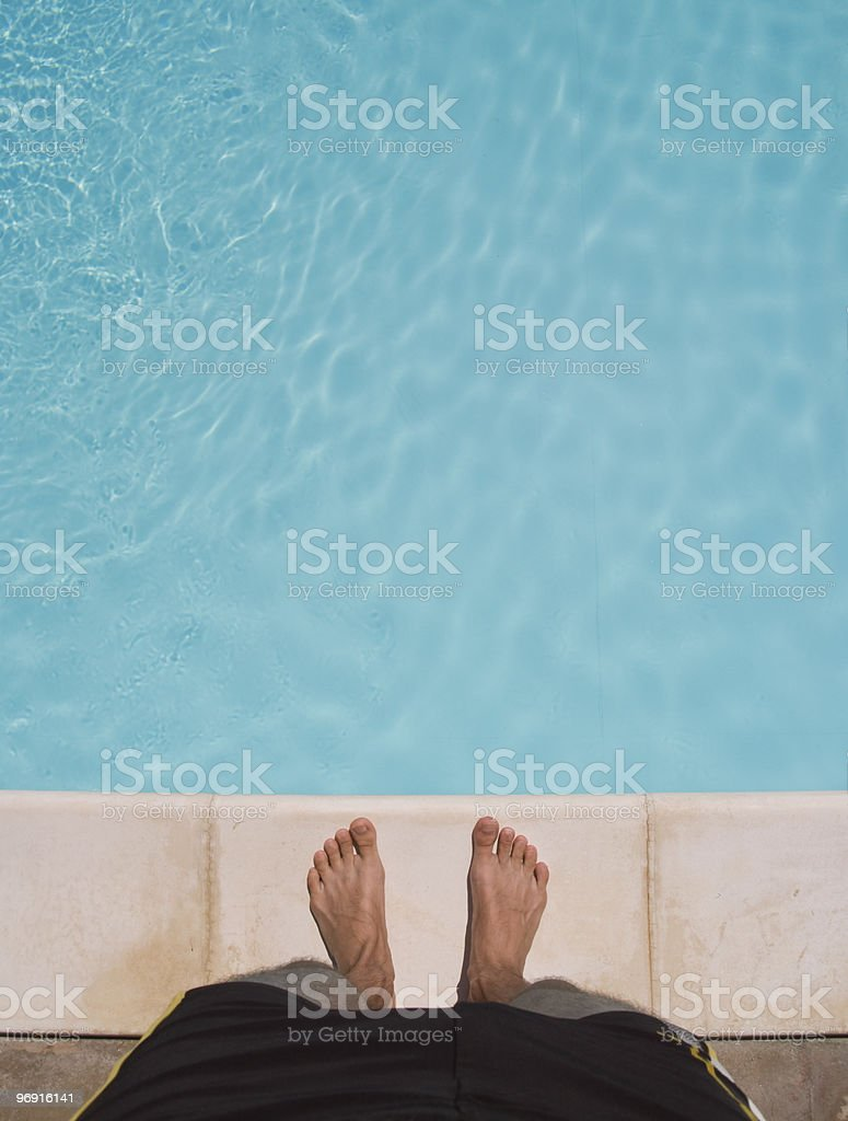 my swimming pool royalty-free stock photo
