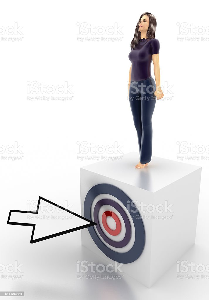 My Target royalty-free stock photo