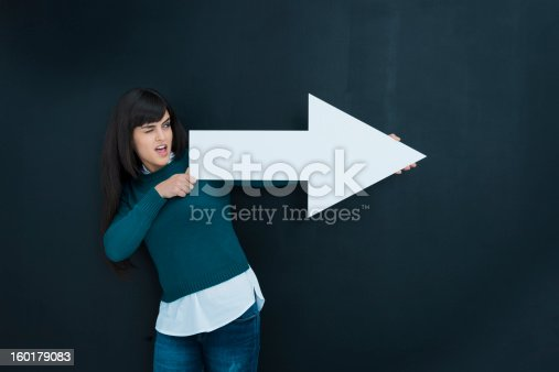 168589045istockphoto My targets: woman pointing 160179083