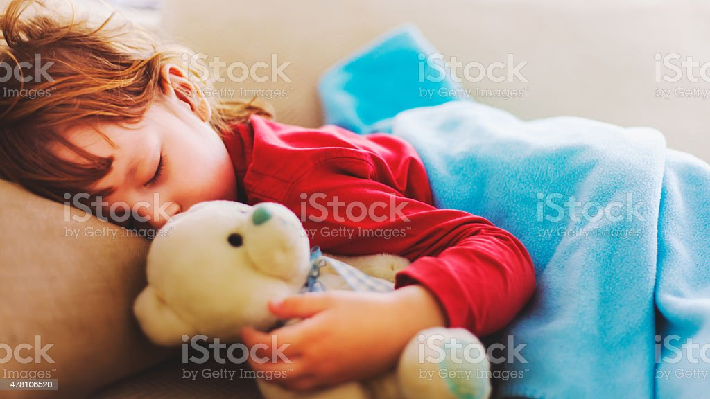 my teddy and me stock photo